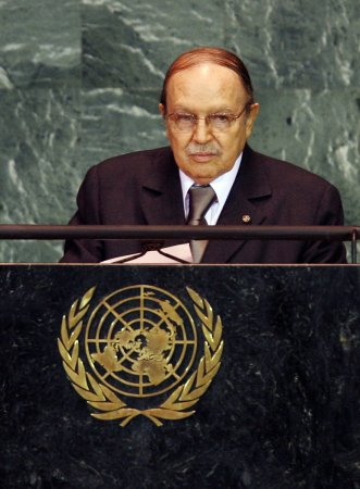 Algerian President Bouteflika wins re-election with 81.53 percent of the vote