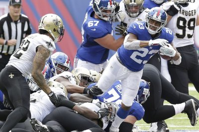 Fantasy Football Alert: New York Giants RB Rashad Jennings ruled OUT