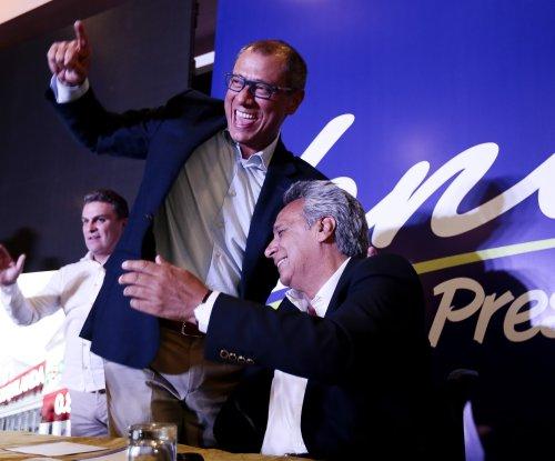 Lenin Moreno leads Ecuador presidential election but run-off vote likely
