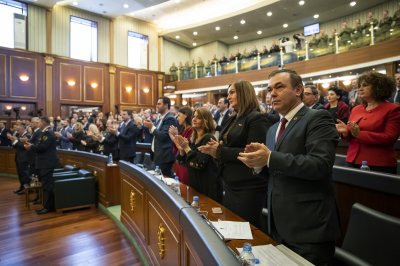 Kosovo Parliament votes to create an army, elevating tensions with Serbia