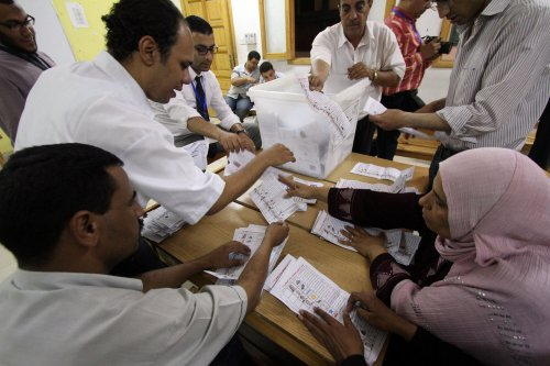 Lawsuit threatened in Egypt election