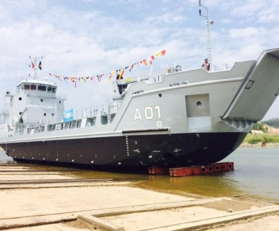 Damen Shipyards Group launches vessel for Bahamas Defense Force