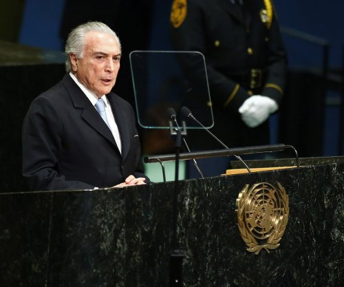 Brazilian President Michel Temer accused of bribery by ex-President Dilma Rousseff