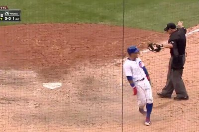 Chicago Cubs' Javier Baez makes smooth slide in walk-off victory