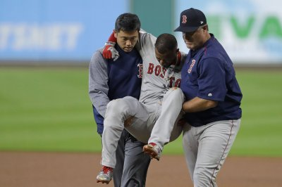AL Division Series: Boston Red Sox lose Eduardo Nunez to knee injury vs. Houston Astros
