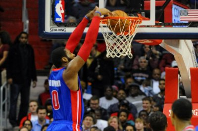 Andre Drummond's been giant as Detroit Pistons host Brooklyn Nets