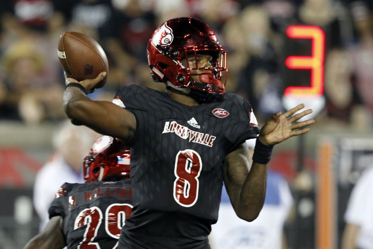 7bebd48d9ea ... Watch Lamar Jackson pledges Super Bowl win for Baltimore Ravens -  UPI.com ...