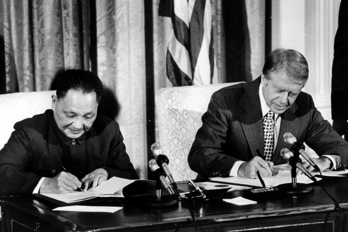 On This Day: Carter, Deng sign accords