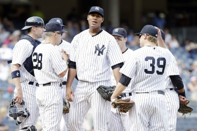 Yankees blank the Braves 7-0
