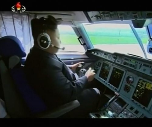 Video appears to show Kim Jong Un piloting a plane