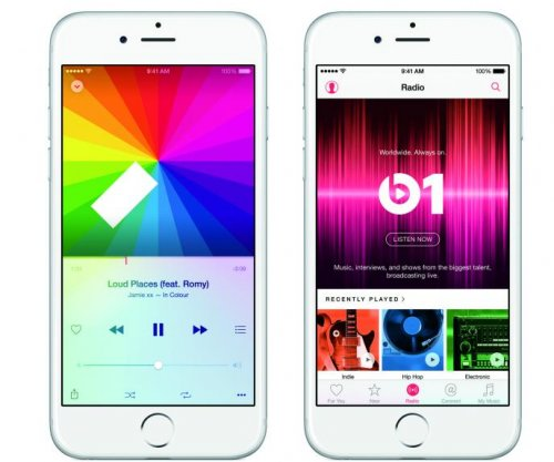 Apple announces new music streaming service