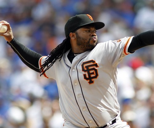 Blisters no problem for Johnny Cueto as San Francisco Giants beat Atlanta Braves