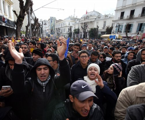 At least 773 detained in protests in Tunisia