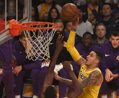 Los Angeles Lakers' Kyle Kuzma out indefinitely with foot injury