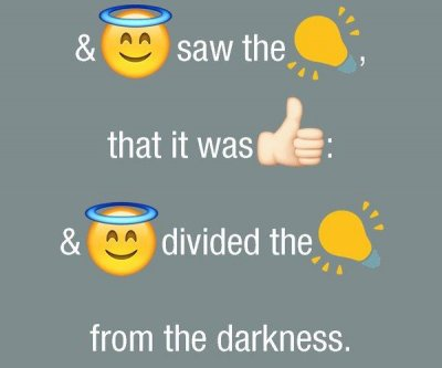Bible translated into emojis 'for millennials'