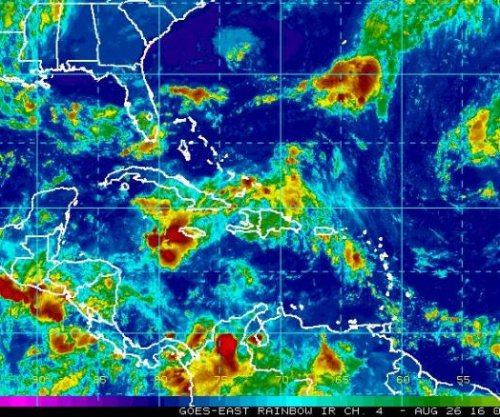 Tropical wave 'Invest 99L' struggles to develop; could miss direct Florida hit