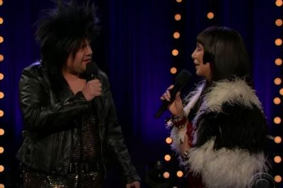 Cher and James Corden team up to recreate a Sonny and Cher classic