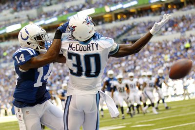Tennessee Titans' Jason McCourty having fun despite rotation