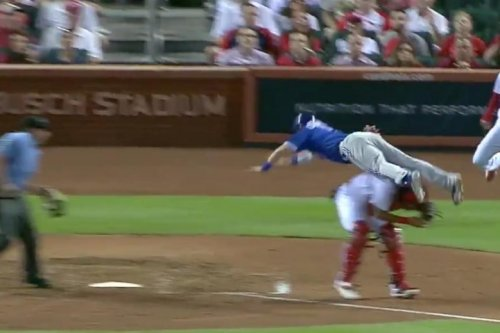 Jays' Coghlan scores best run in recent MLB memory