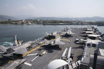 China's 70th anniversary naval celebration won't include U.S. ships