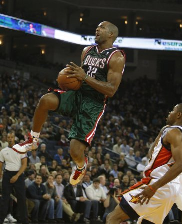 Bucks' Michael Redd out for season