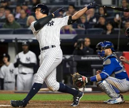 Aaron Judge strikes again as New York Yankees rally past Toronto Blue Jays