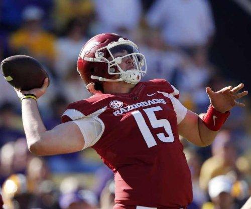Cole Kelley: Arkansas Razorbacks quarterback suspended indefinitely following arrest