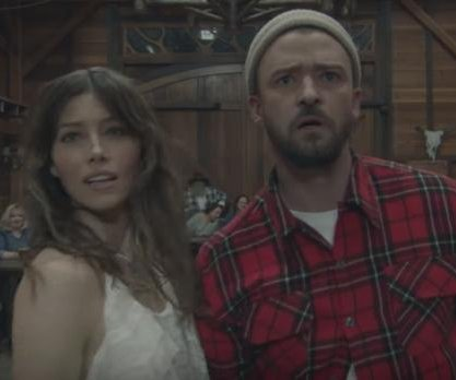 Timberlake, Biel dance together in 'Man of the Woods' music video