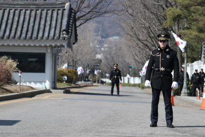 South Korea army officer arrested for attempted attack on Blue House