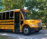 Army trainee arrested after hijacking South Carolina school bus; no one hurt