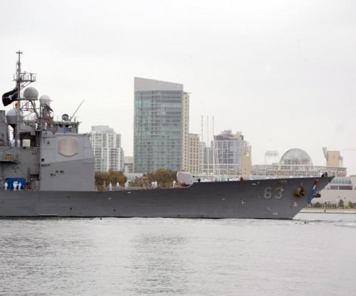 USS Cowpens holds cruiser modernization induction