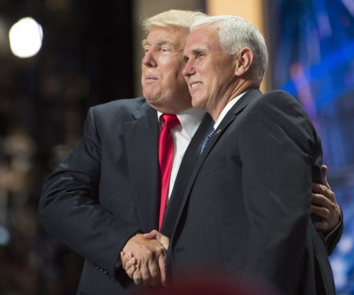 Mike Pence shrugs off title of Donald Trump clean-up man