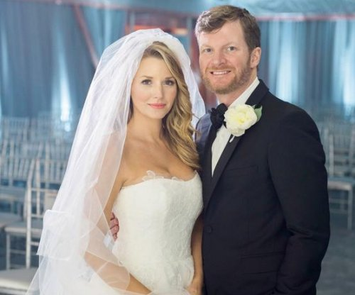NASCAR driver Dale Earnhardt Jr. marries longtime girlfriend Amy Reimann