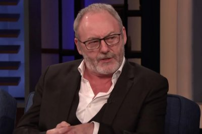 Liam Cunningham says he took home multiple 'Game of Thrones' props on 'Conan'