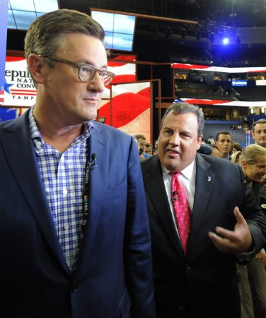 Joe Scarborough and his wife divorced in January