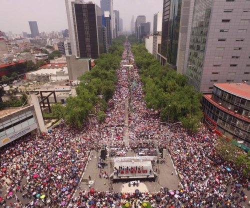 Thousands protest in Mexico City over deadly teachers union clashes in Oaxaca