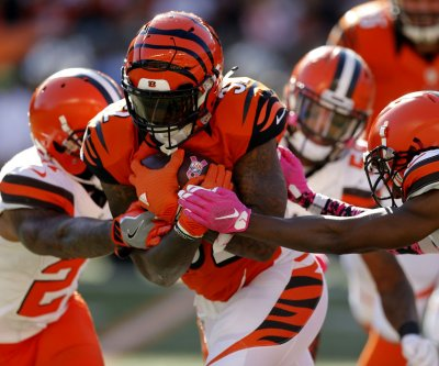 Jeremy Hill, A.J. Green thrive as Cincinnati Bengals bury Cleveland Browns