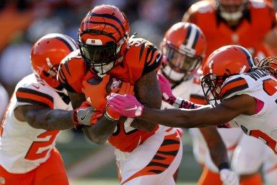 Jeremy Hill, A.J. Green thrive as Cincinnati Bengals bury Cleveland Browns