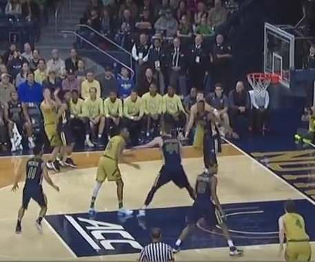 Bonzie Colson guides No. 21 Notre Dame past Georgia Tech