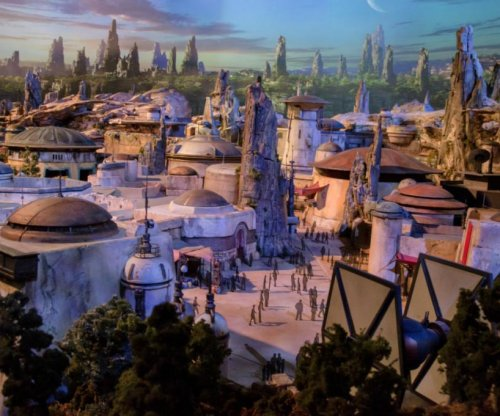 Disney unveils model of 'Star Wars'-themed parks