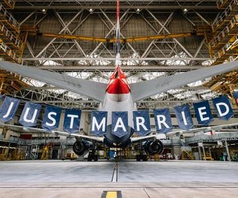 British Airways celebrates royal wedding with crew bearing couple's names