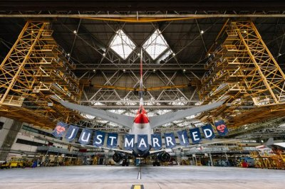 British Airways celebrates royal wedding with crew bearing couple's names