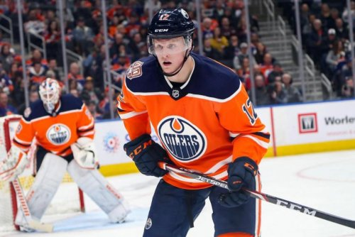Oilers' Colby Cave remains in medically induced coma after brain surgery