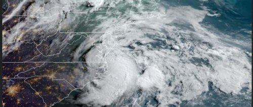 Claudette regains tropical storm strength over Carolinas as it nears Atlantic
