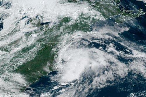 Claudette again a tropical storm near Carolinas, headed out to sea