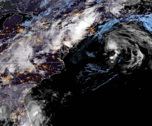 Claudette dissipates into low pressure trough off U.S. East Coast