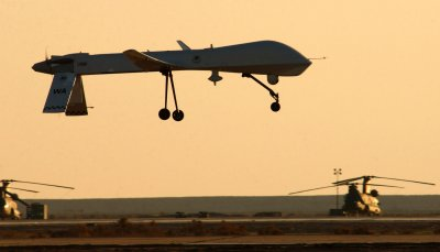 U.S. drone crashes in Afghanistan