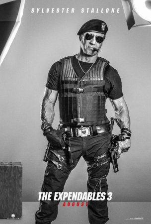 Stallone, Gibson, Banderas and Schwarzenegger star in new 'Expendables 3' posters