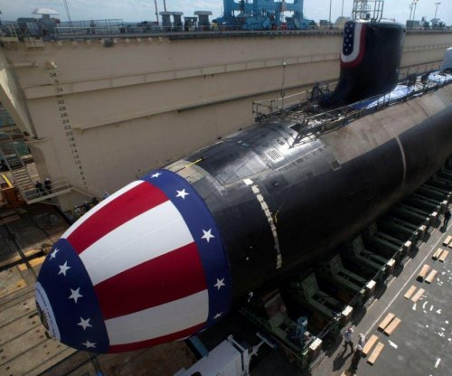 New submarine delivered to U.S. Navy