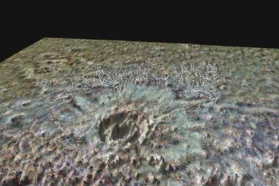 Hot rocks, not a warm atmosphere, explain Mars' young, water-carved valleys
